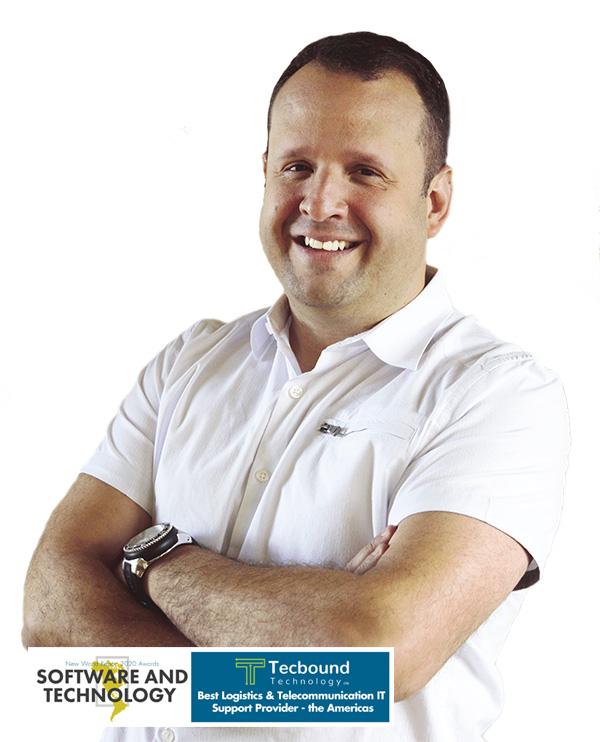 Oscar Diaz, Tecbound Technology CEO. IT Services in Calgar
