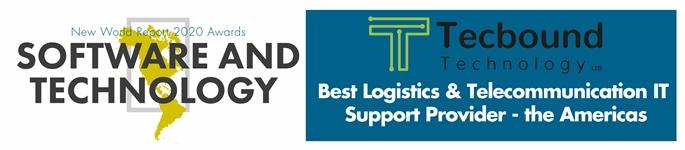 Tecbound Technology 2020 NWR Software and Technology Winners Logo